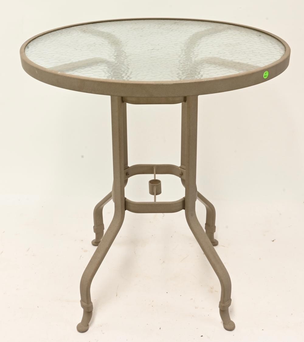 Vintage Patio Garden Furniture Tall Table
