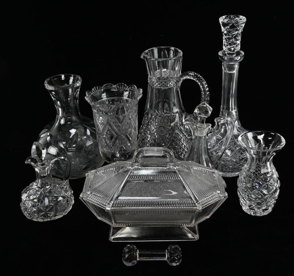 Vintage E.A.P.G And Other Estate Glass Collection
