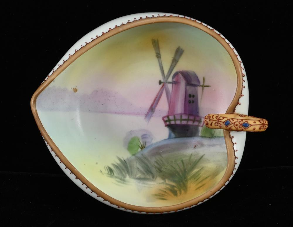 Vintage Hand Painted Nippon Porcelain Nappy