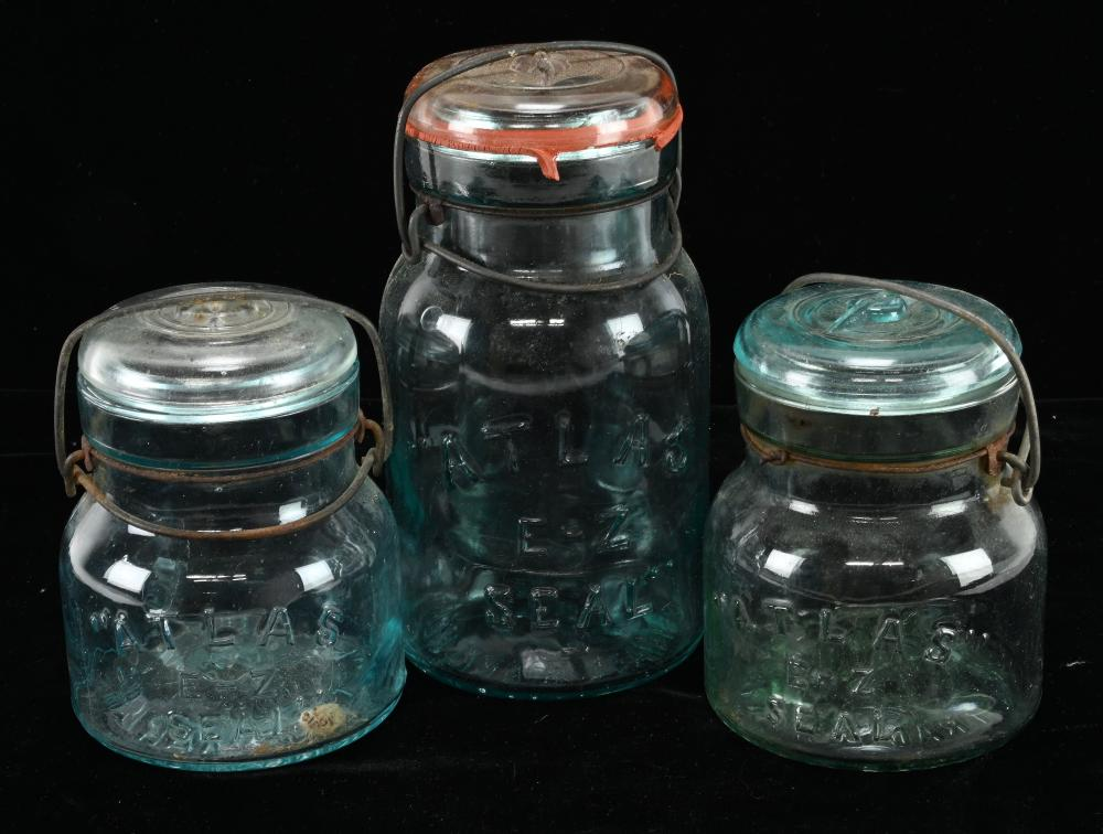 Antique Glass Fruit Jar Estate Collection