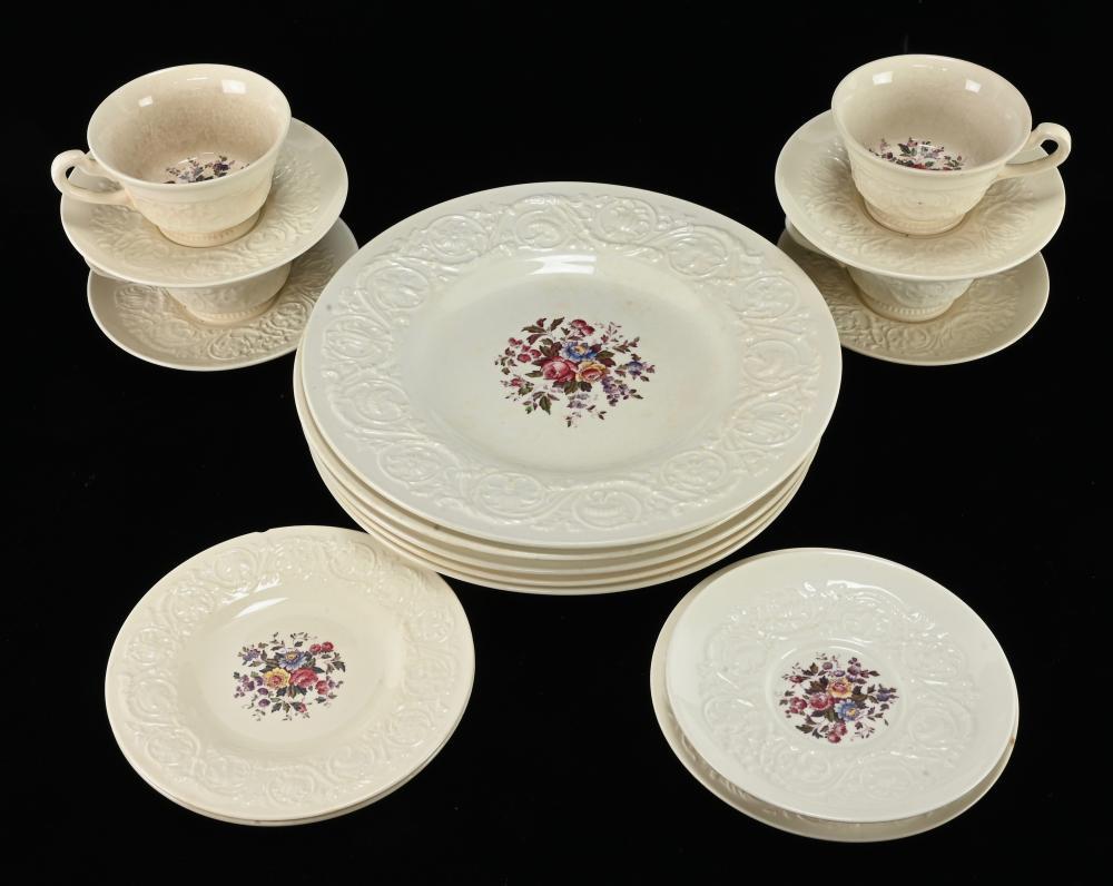 Vintage Wedgwood Patrician Swansea Dinnerware China