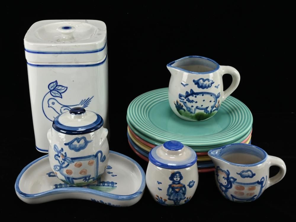 Vintage Pottery Dinnerware Estate Collection