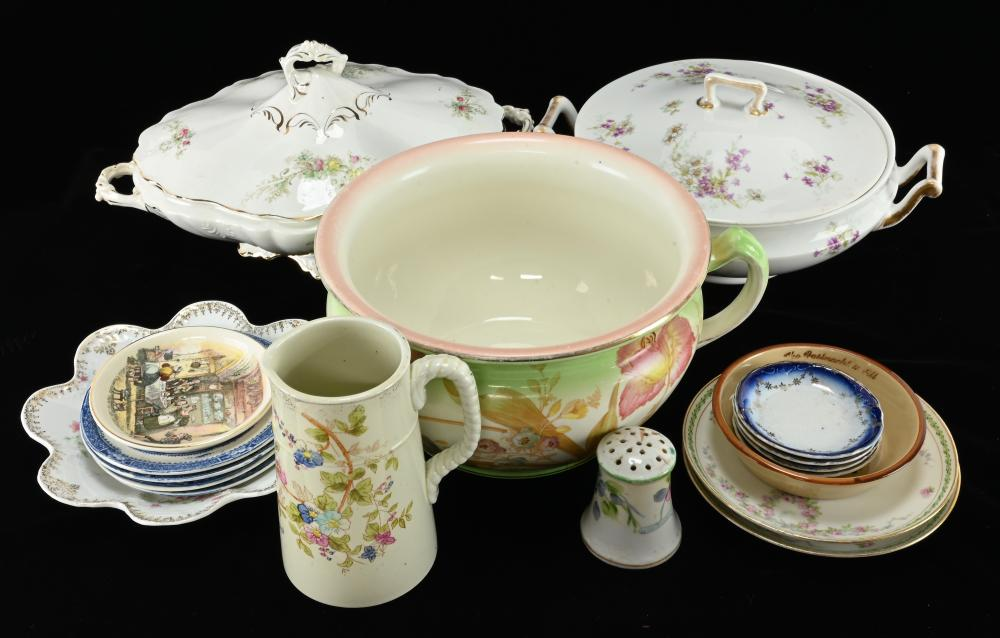 Antique French English China Estate Collection