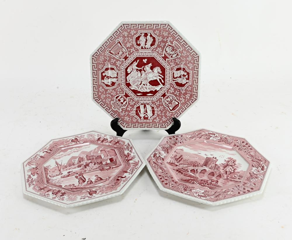 The Spode Archive Sutherland Plate Collection