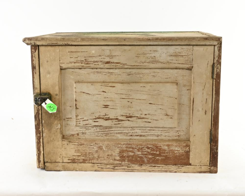 Antique Country Pie Safe Countertop Cupboard