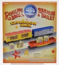 Lionel #6-2216 Ringling Brothers expansion pack Appears to be in new or like condition; Provenance: Private Durham NC Collection