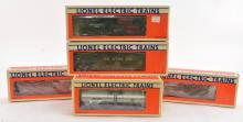 Group of Lionel Southern Freight Cars
