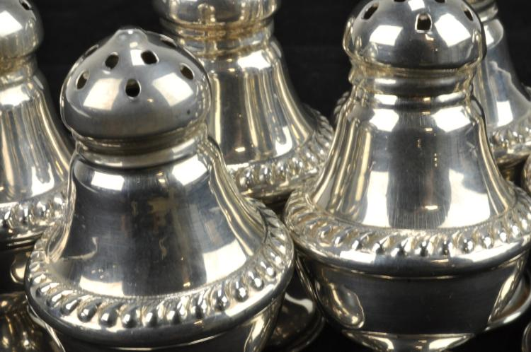 Lot 4: Sterling Silver Set Of 6 Matching Salts
