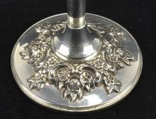 Lot 6: International Sterling Silver Du Barry Bud Vase