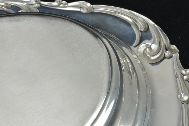 Lot 9: International Sterling Silver Rhapsody Bread Tray