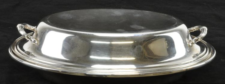 Lot 10: Gorham Sterling Covered Entree Dish