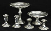 Lot 14: Sterling Silver Weighted Collection