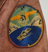Lot 24: U.S. Navy Leather Flight Jacket