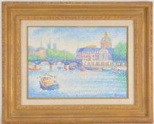 Lot 28: Belton Oil On Canvas Painting