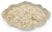 Lot 36: Moriage Hand Painted Dresser Tray