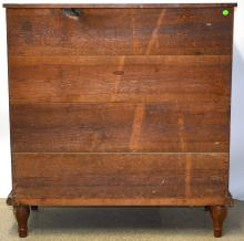 Lot 40: North Carolina Pine Empire 6 Drawer Chest