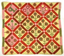 Piedmont NC Antique Applique Quilt