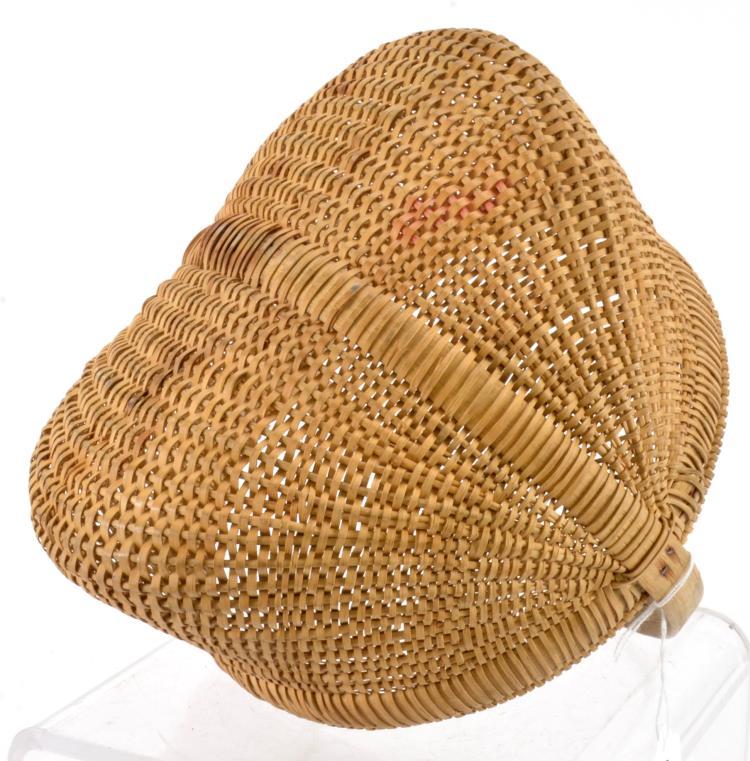 Lot 43: Piedmont NC Antique Oak Split Woven Basket