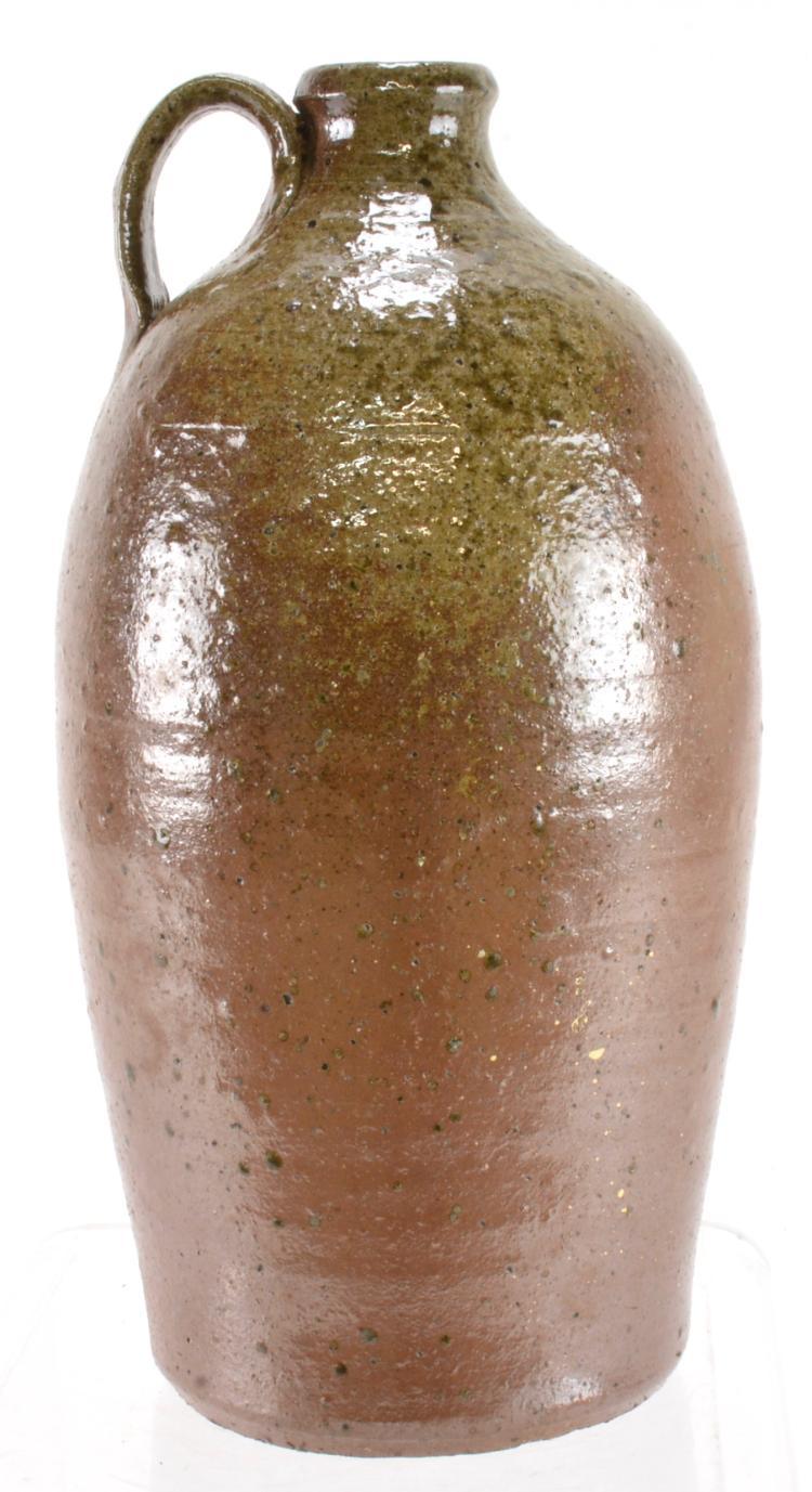 Piedmont NC 1 Gallon Saltglaze Pottery Jug