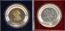 Lot 48: Sterling Silver Collectors Plates