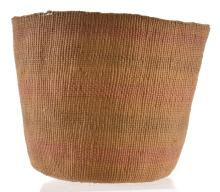 Lot 62: Antique Native American Indian Basket S. C. G. Watkins Collection