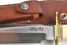 Lot 76: Randall Made Orlando Fla. Stag Handle Sheath Knife