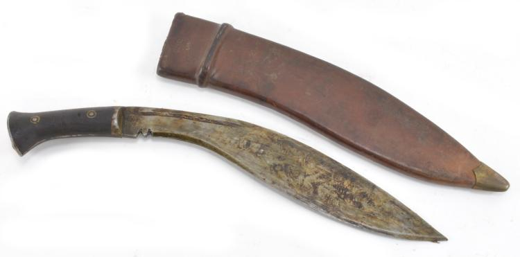 Lot 79: Antique Kukri Knife