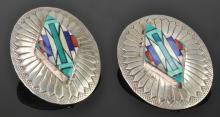 Lot 88: Vintage Southwest Jewelry Earrings