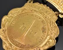 Lot 95: 1894 Fredericksburg Mary Washington Monument Souvenir Medal