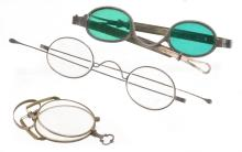 Lot 108: North Carolina Antique Spectacles Collection