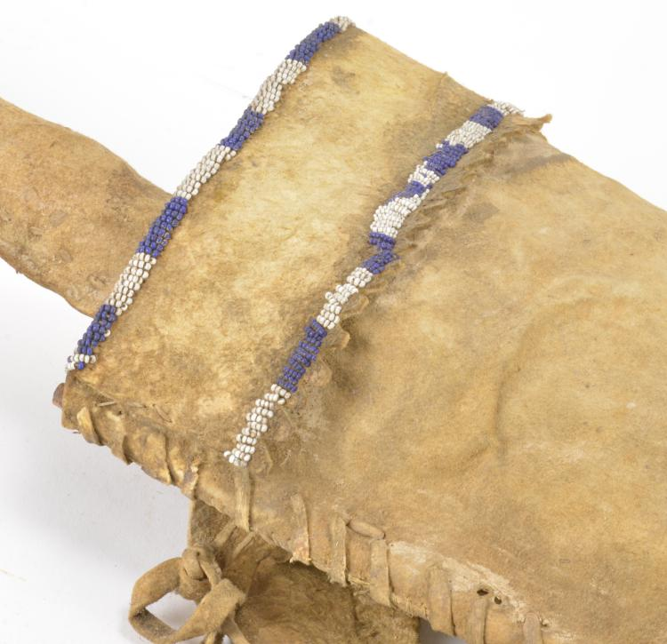 Lot 110: Native American Indian Bow, Bow Case, and Quiver S. C. G. Watkins Collection