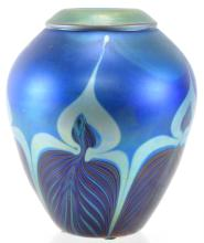Lot 114: Carl Radke Phoenix Studios Art Glass Vase