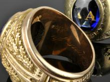 Lot 120: Duke University Gold Class Rings