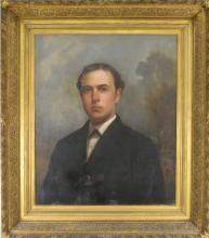 Lot 125: Richmond Va. Portrait Of Gentleman Oil Painting