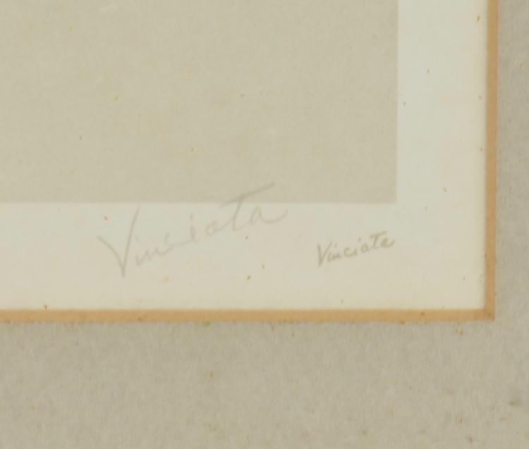 Lot 131: Vinciata Pencil Signed And Numbered Medina