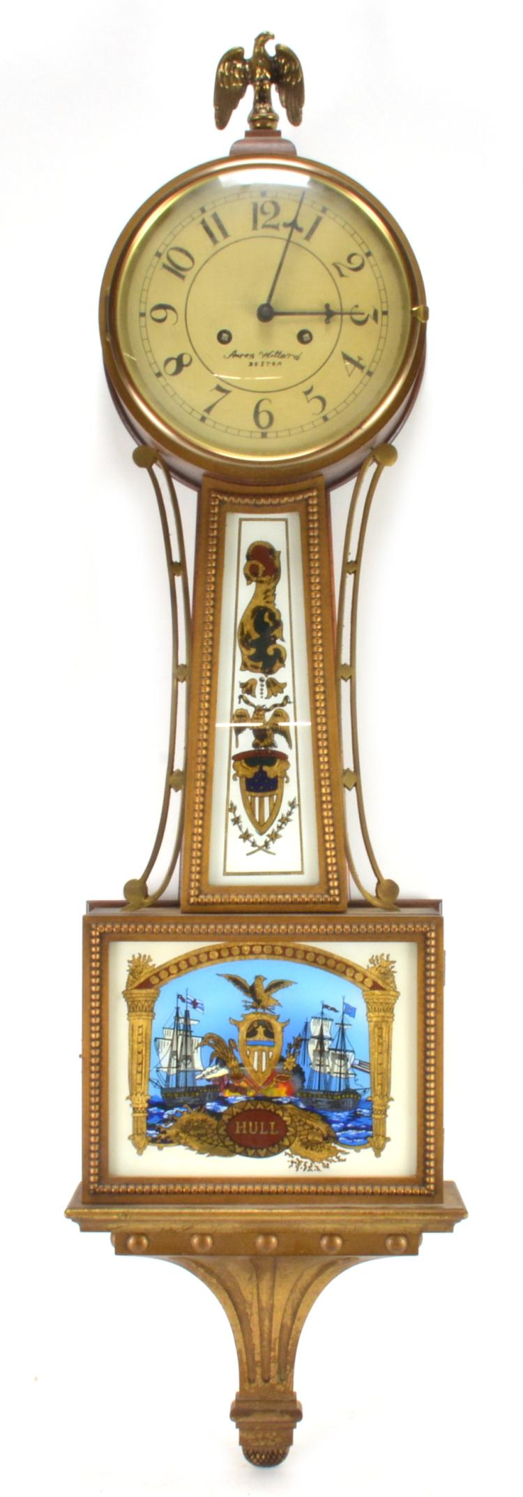 Lot 136: Aaron Willard Banjo Clock Henry Ford Museum Edition