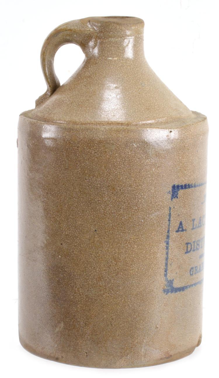 Lot 147: A. Lacy Holts Distillery Graham NC Stoneware Jug