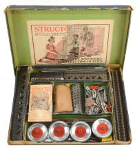 Lot 153: Structo Chief Engineer Erector Set