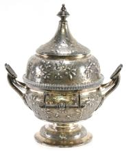 Lot 172: Reed And Barton 1880 Silverplate Butter Dish