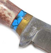 Lot 185: R.W.Wilson Weirton WV Eagle Head Knife