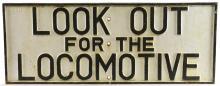 Lot 188: Antique Railroad Cast Iron Sign