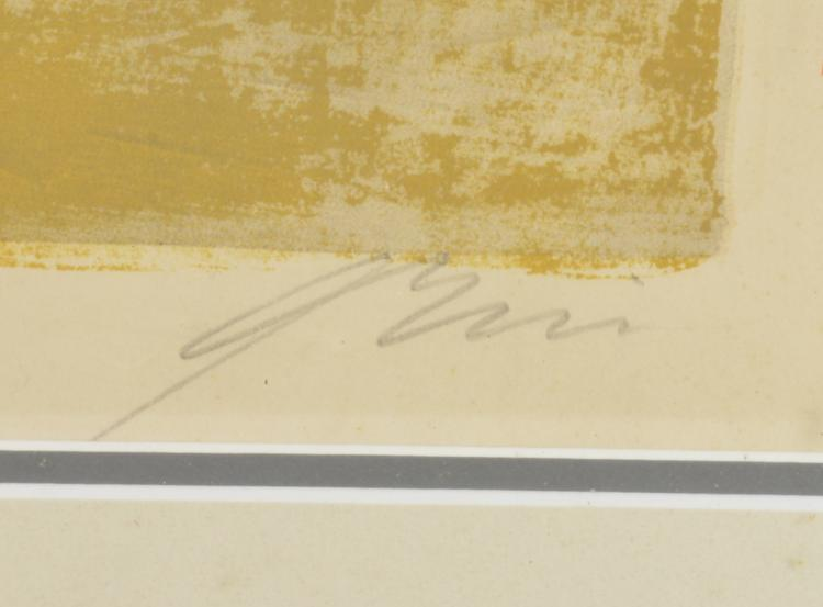 Lot 193: Mid Century Modern Art Pencil Signed And Numbered