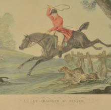 Lot 196: Carle Vernet Hunting Lithographs