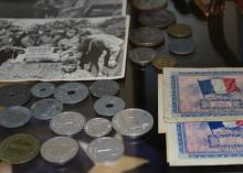Lot 179: WWII US Army Archive Soldier Collection Photos Medals Patches