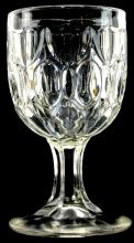 American Flint Glass Goblet Eugenie