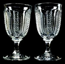 American Flint Goblet Two Cable