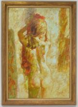 Harrison Rucker Nude Painting