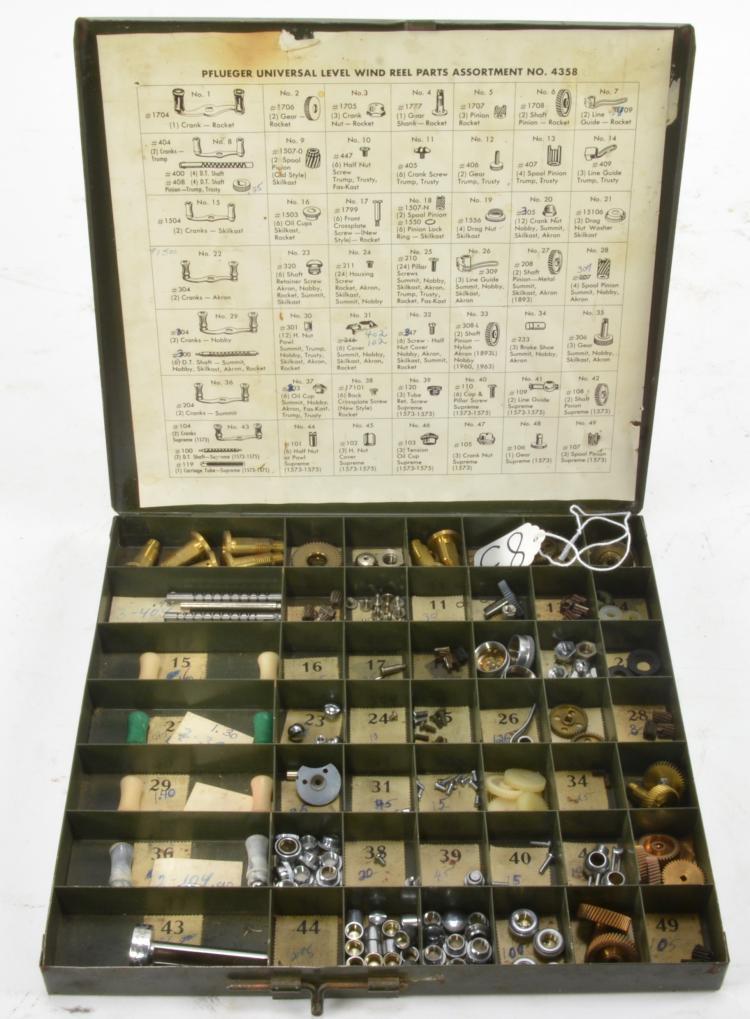 Vintage pflueger lure catalog