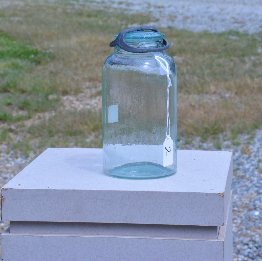 Antique Fruit Jar Griffen's Patent Lid