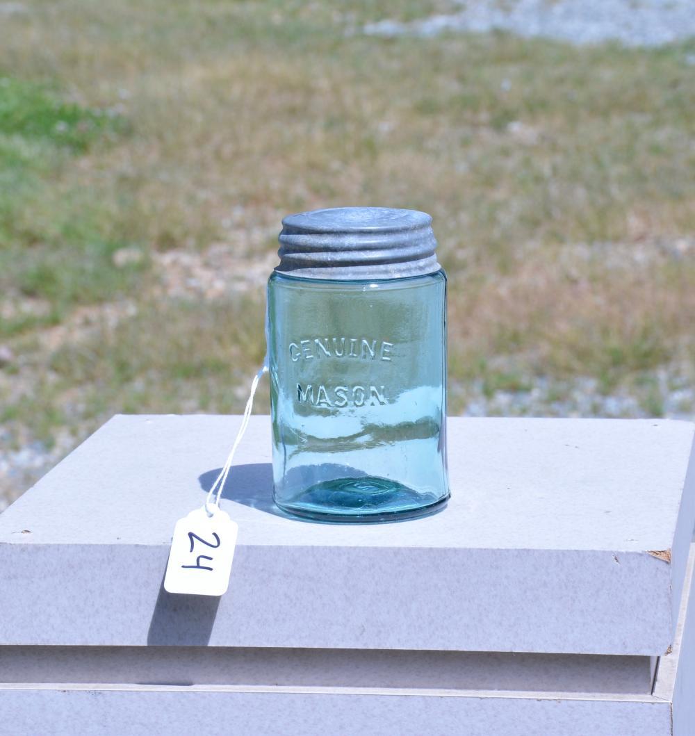 Genuine Mason Pint Fruit Jar